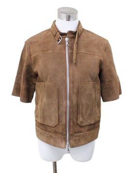 Theory Brown Suede Jacket