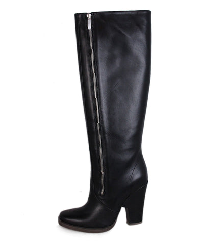 Theyskens Black Leather boots 1