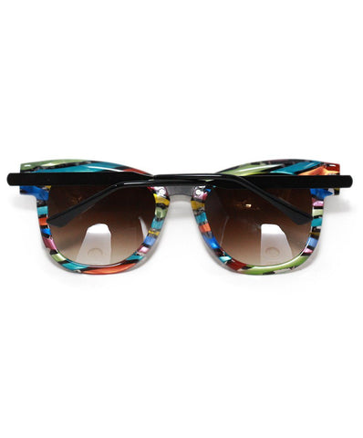 Thierry Lasry black rainbow plastic sunglasses 1