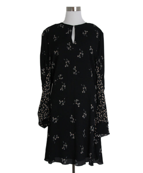 Tibi Black White Foral Dress 1