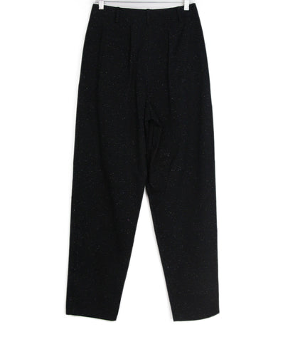 Tibi black white cotton pants 1