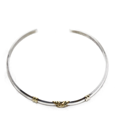 Tiffany & Co. Sterling Silver 18 K Gold Bracelet 1