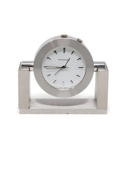 Tiffany & Co. Stainless Steel Clock