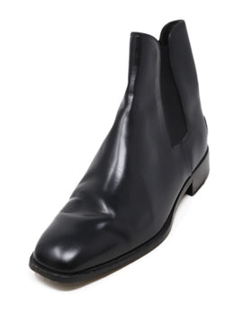 Tod's Black Leather Chelsea Boots 1