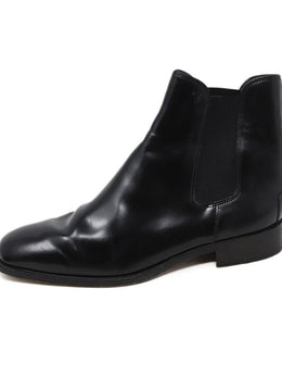 Tod's Black Leather Chelsea Boots 2