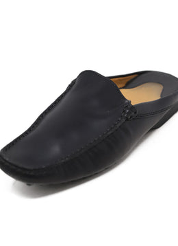 Tod's Black Leather Mules 1