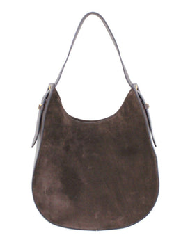 Tod's Brown Suede Handbag