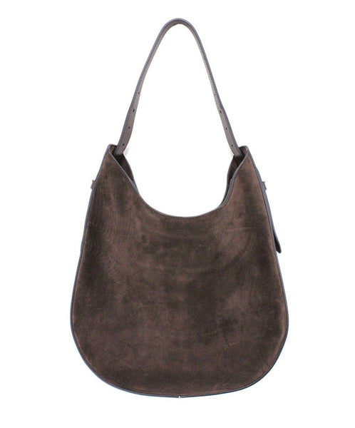 Tod's Brown Suede Handbag 2