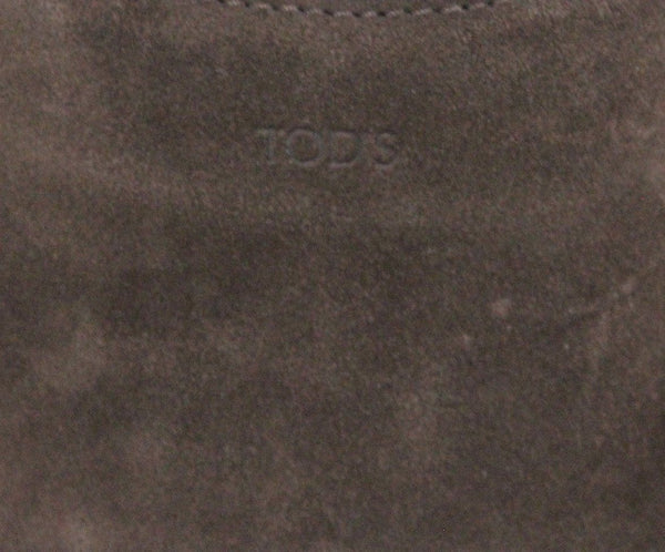 Tod's Brown Suede Handbag 7