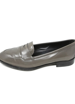 Tod's Grey Leather Loafers 2