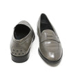 Tod's Grey Leather Loafers 3