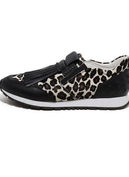 Tod's Slip On Animal Print Sneakers 2
