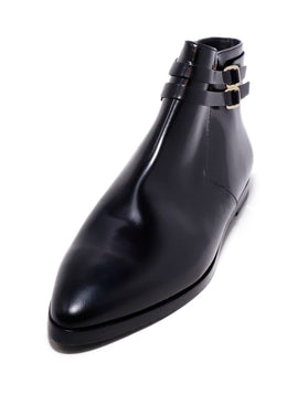 Tod's Black Leather Booties 1