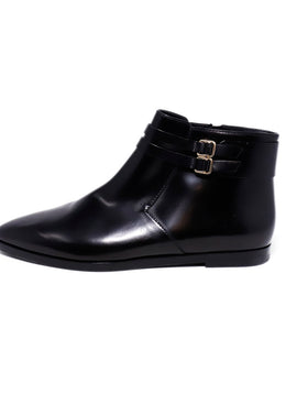 Tod's Black Leather Booties 2
