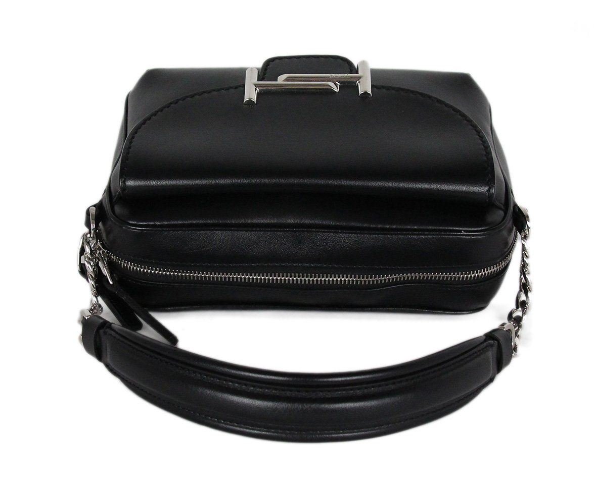 Tod's Black Leather Crossbody Handbag 5