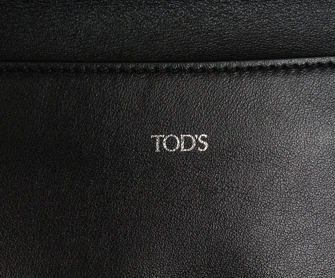 Tod's Black Leather Crossbody Handbag 10