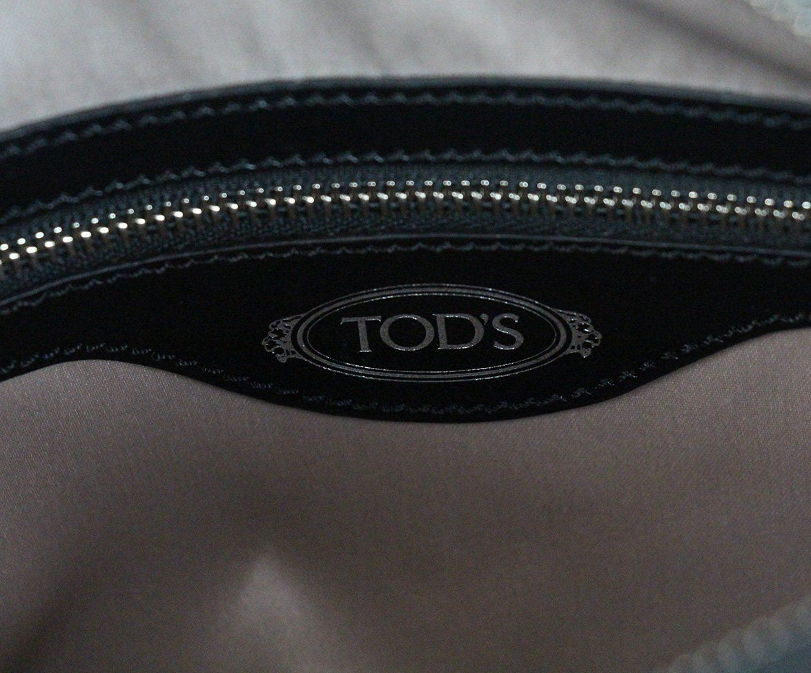 Tod's Black Leather Crossbody Handbag 7