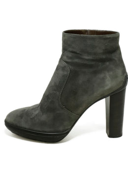 Tod's Grey Suede Booties 2