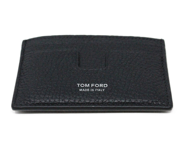 Tom Ford Black Leather Card Case 1
