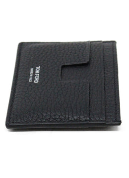 Tom Ford Black Leather Card Case 2