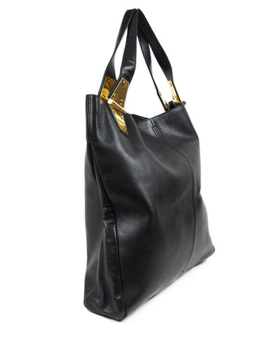 Tom Ford Black Leather Handbag 1