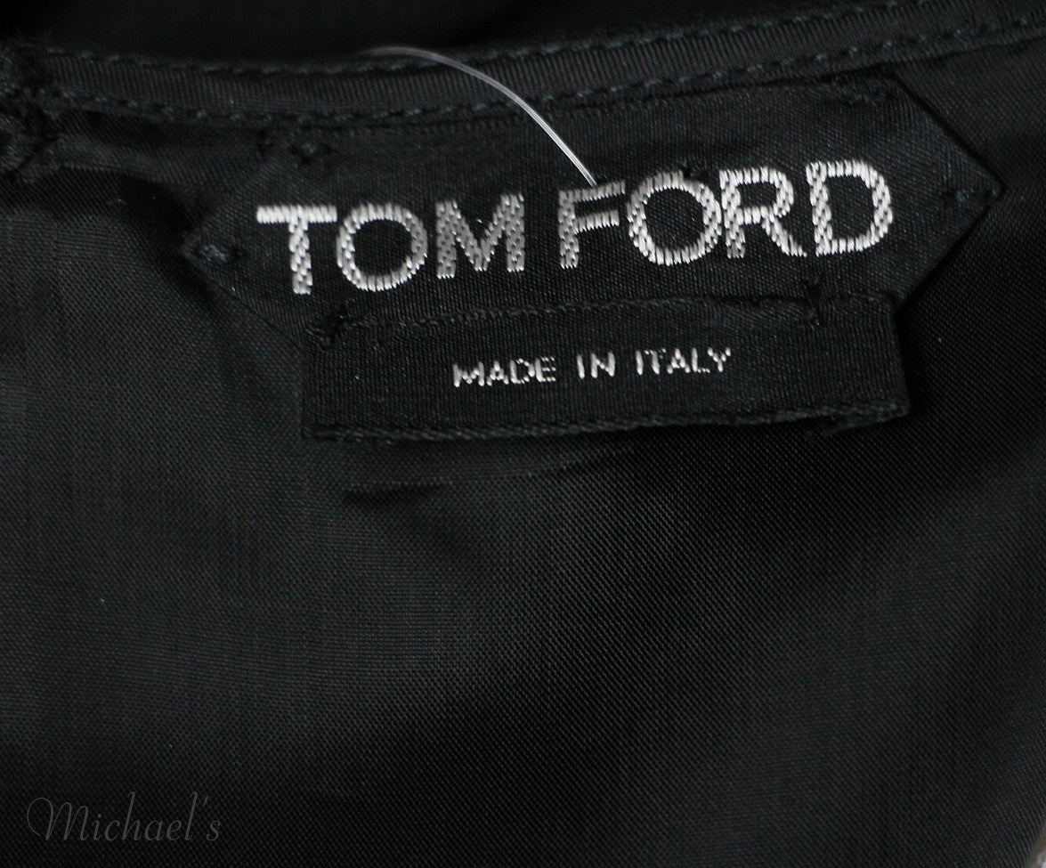 Tom Ford Black Wool Top Sz 4 - Michael's Consignment NYC  - 5