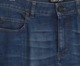 Tom Ford Blue Denim Pants 4