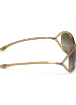 Tom Ford Brown Plastic Sunglasses 2