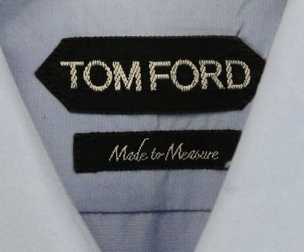 Tom Ford Mens Blue Button Down 2
