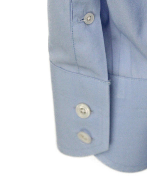 Tom Ford Mens Blue Button Down 4