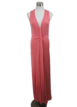 Tom Ford Pink Viscose Gown 1
