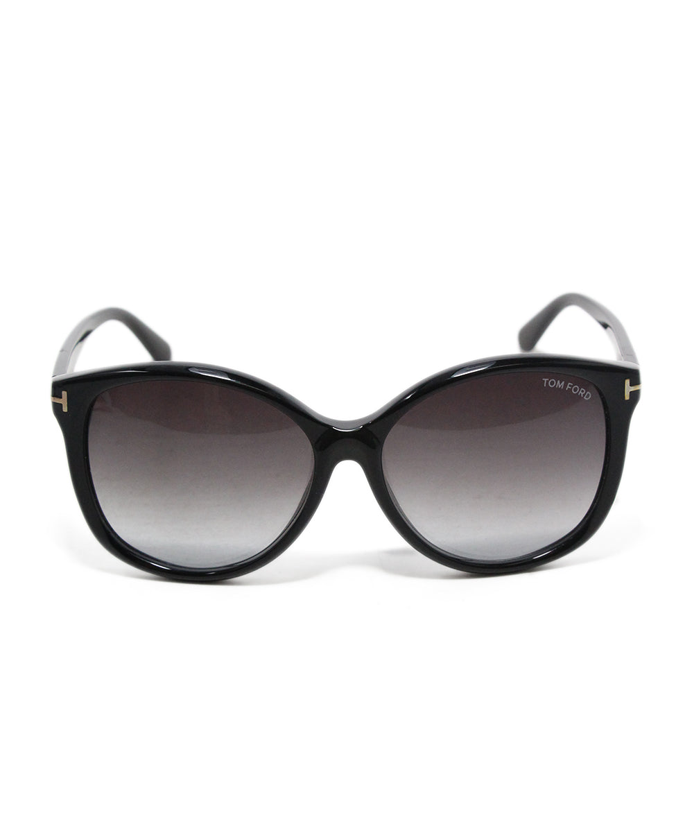 Tom Ford black plastic sunglasses 2