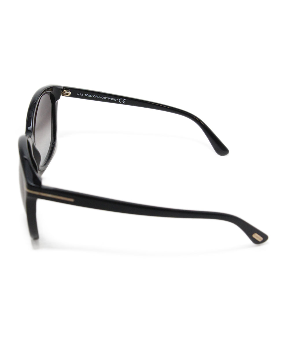 Tom Ford black plastic sunglasses 4