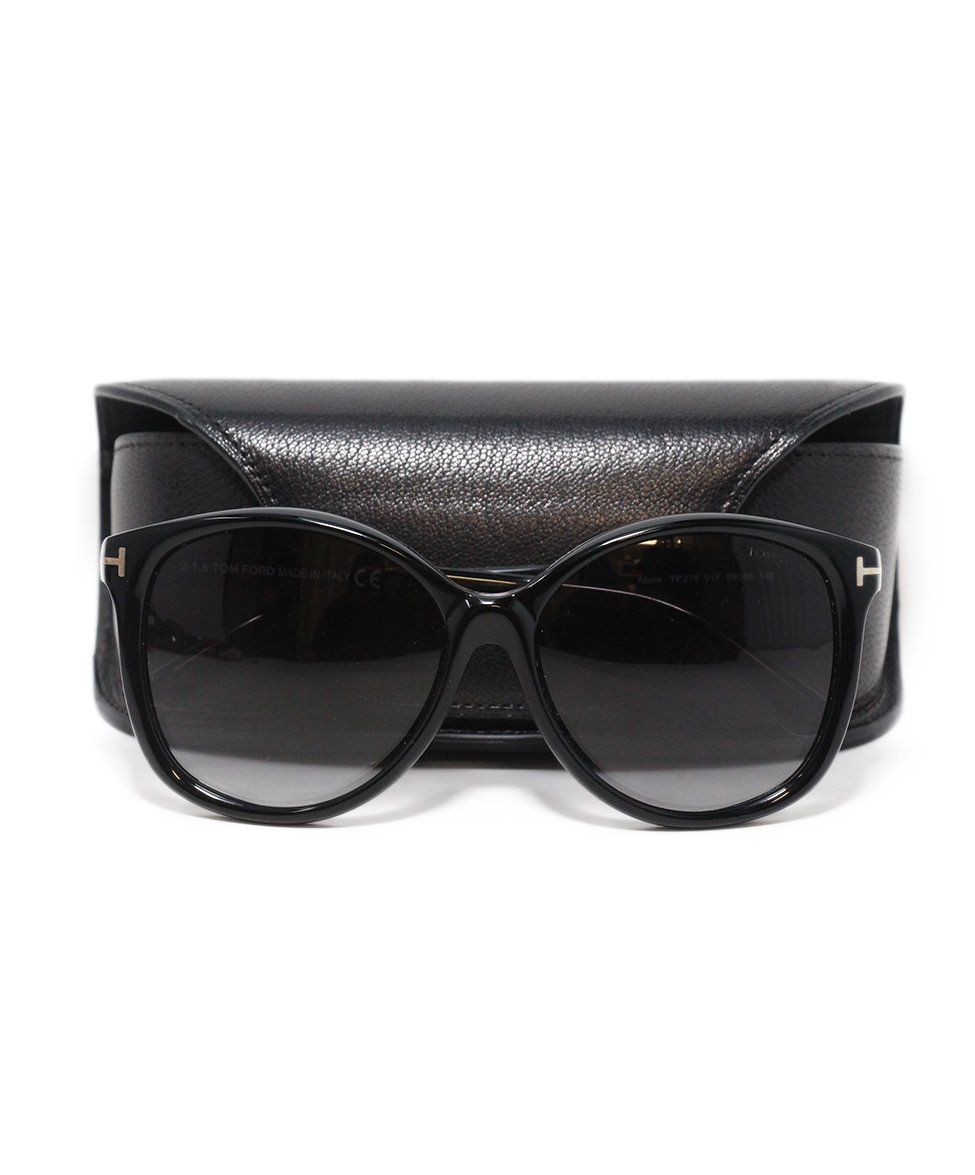 Tom Ford black plastic sunglasses 7