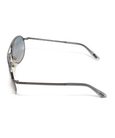 Tom Ford Grey Silver Metal Sunglasses 1