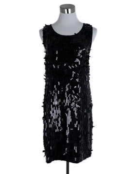 Tory Burch Black Sequins Evening Dress 1