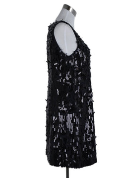 Tory Burch Black Sequins Evening Dress 2