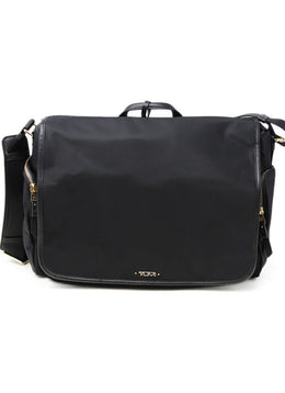 Tumi Black Nylon Handbag