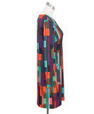 Turk Multi Print Polyester Dress 2