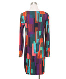 Turk Multi Print Polyester Dress 3