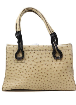 VBH Neutral Ostrich Handbag