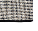 Valentino Brown Tan Tweed Wool Velvet Skirt 4