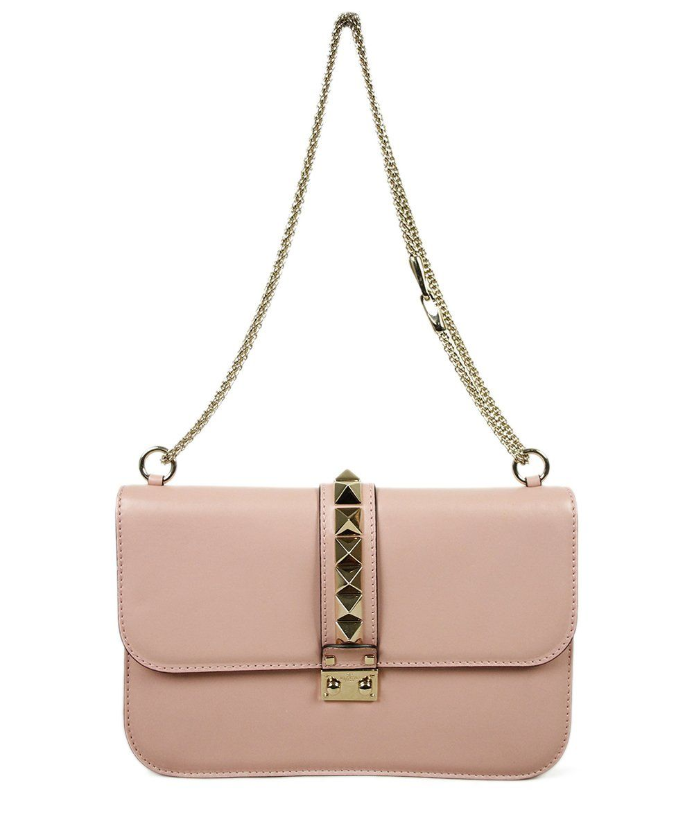 Valentino Pink Leather Bag 1