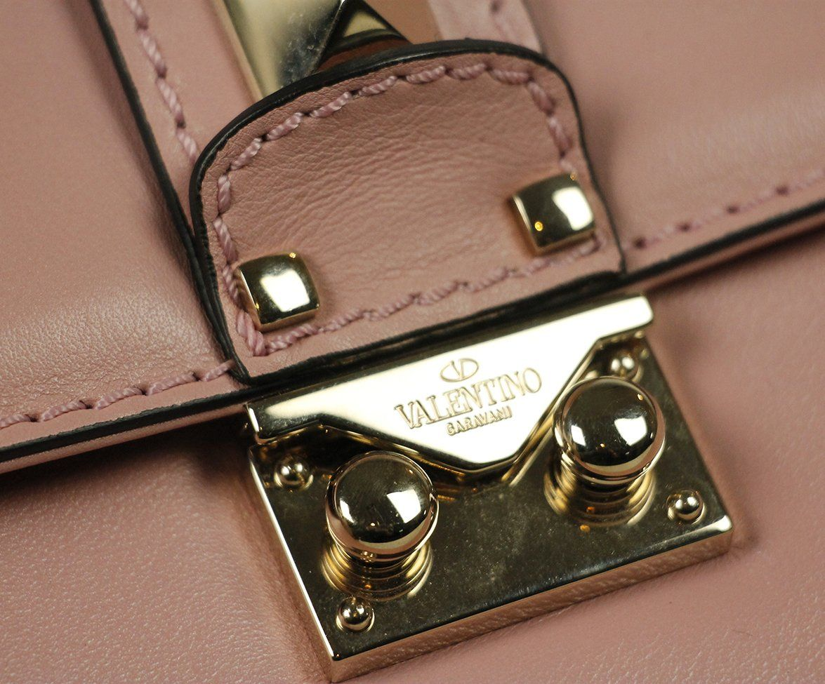 Valentino Pink Leather Bag 10