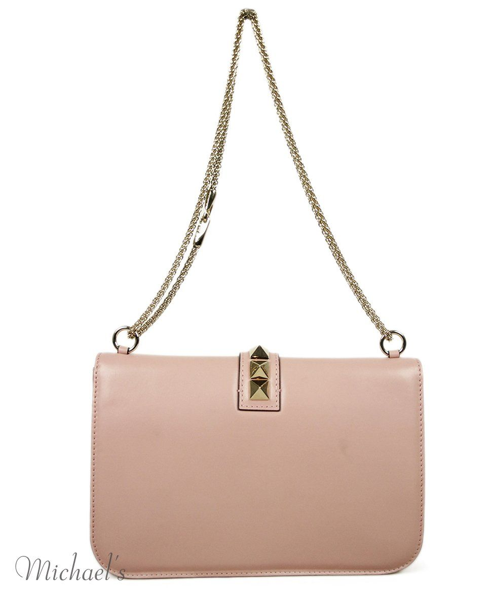 Valentino Pink Leather Bag 3