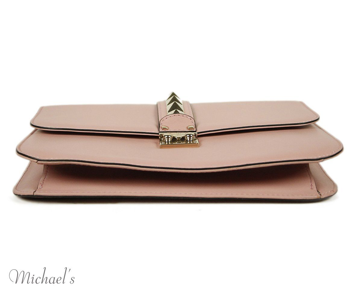 Valentino Pink Leather Bag 4