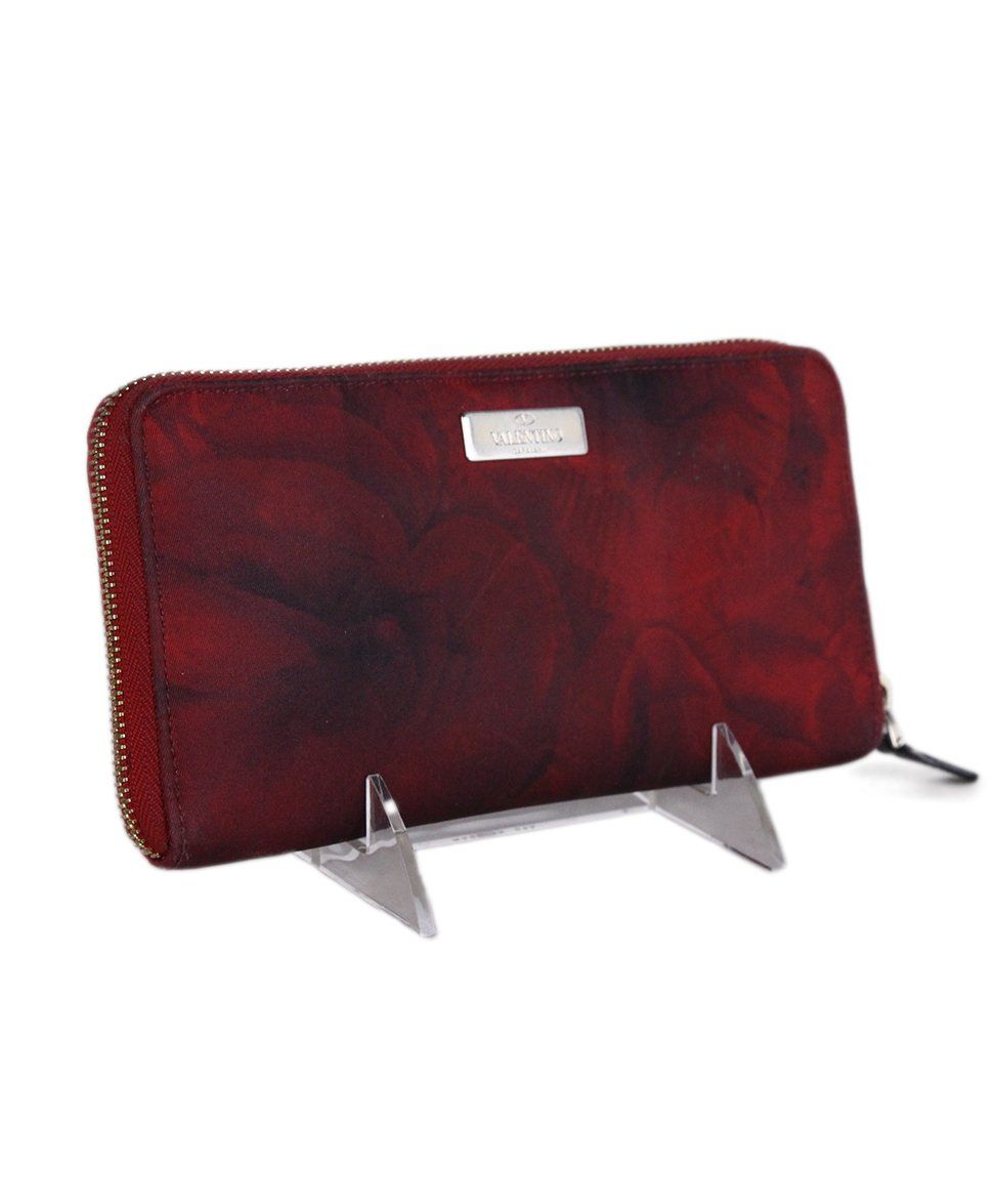 Valentino Red Black Nylon wallet 2