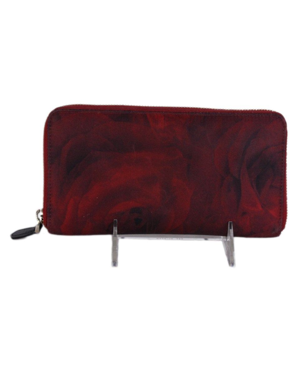 Valentino Red Black Nylon wallet 3