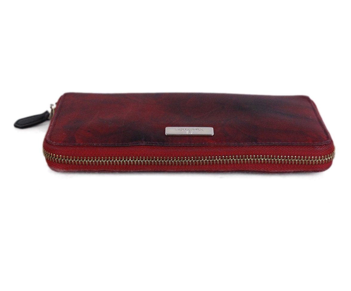 Valentino Red Black Nylon wallet 4