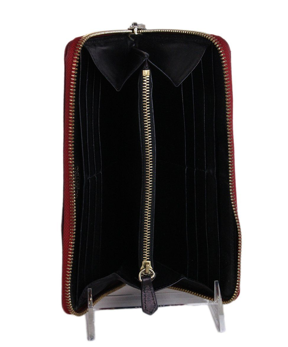 Valentino Red Black Nylon wallet 6